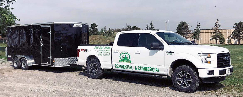 Precision Lawn Care Truck & Trailer