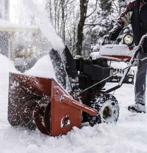 Residential Snow Removal Services from Precision Lawn Care